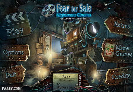 Fear For Sale 3: Nightmare Cinema Collector's Edition