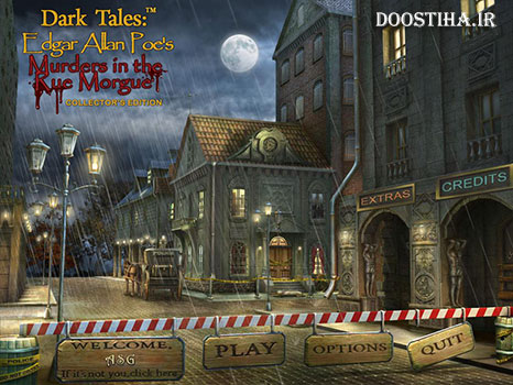 Dark Tales: Edgar Allan Poes Murders in the Rue Morgue Collectors Edition