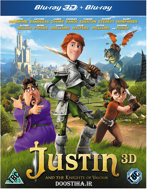 Justin and The Knights of Valour 2013 Bluray