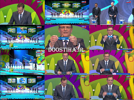 Final Draw of World Cup 2014 - Full Event