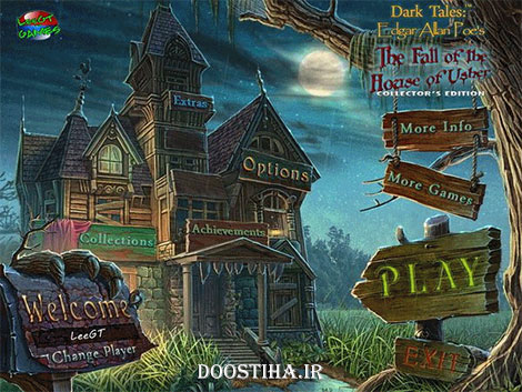 Dark Tales 6: Edgar Allan Poe's The Fall of the House of Usher Collector's Edition