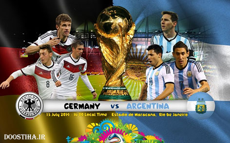 World Cup 2014 Final - Germany vs Argentina