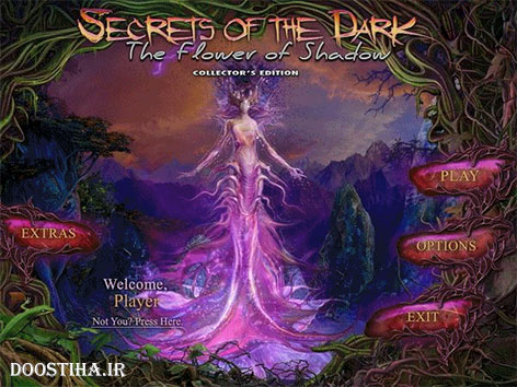 Secrets of the Dark 4: The Flower of Shadow Collector's Edition