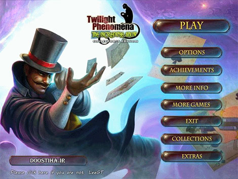 Twilight Phenomena 3: The Incredible Show Collector's Edition