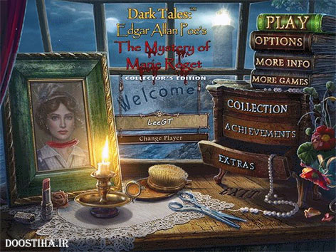 Dark Tales 7: Edgar Allan Poe's The Mystery of Marie Roget Collector's Edition
