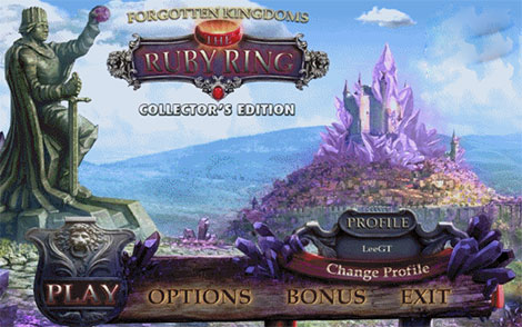 Forgotten Kingdoms 2: The Ruby Ring Collector's Edition