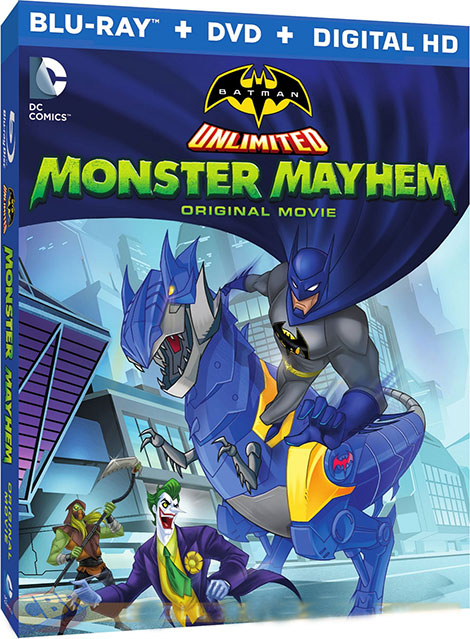دانلود انیمیشن Batman Unlimited: Monster Mayhem 2015