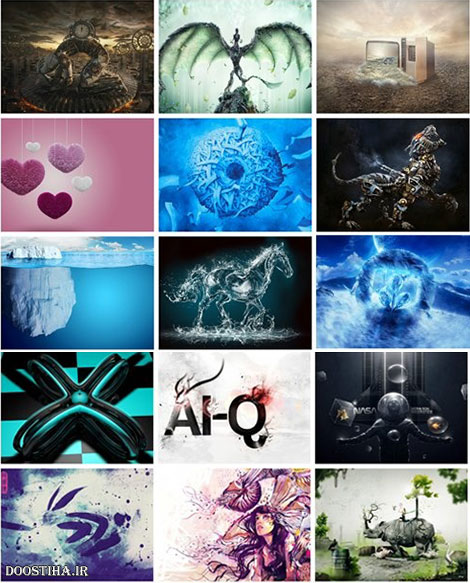 Creative Art HD Wallpapers Mix