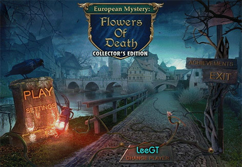 European Mystery 3: Flowers of Death Collector's Edition