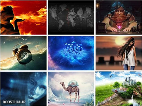 Creative Art HD Wallpapers Pack