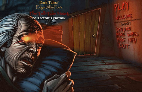 Dark Tales 8: Edgar Allan Poes The Tell-Tale Heart Collector's Edition