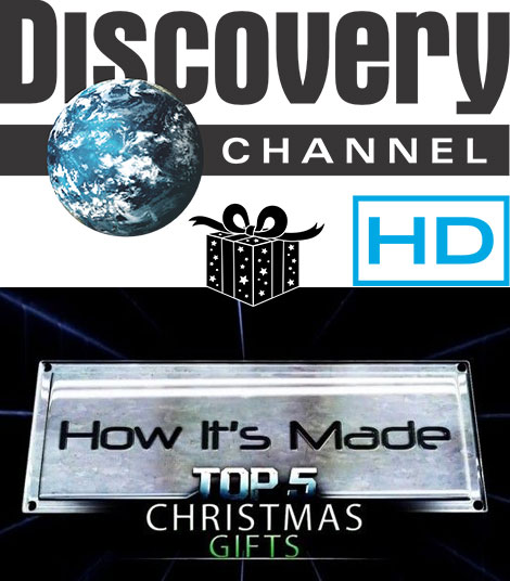 Discovery Channel How its Made Special Top 5 Christmas Gifts 2015