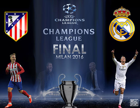 Champions League 2016 Read Madrid vs AT Madrid