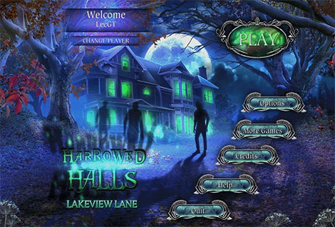 دانلود بازی فکری Harrowed Halls: Lakeview Lane Collector's Edition