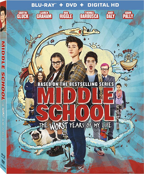 دانلود انیمیشن Middle School: The Worst Years of My Life 2016
