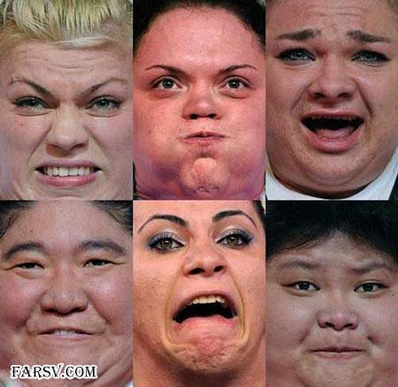 زنان وزنه بردار
