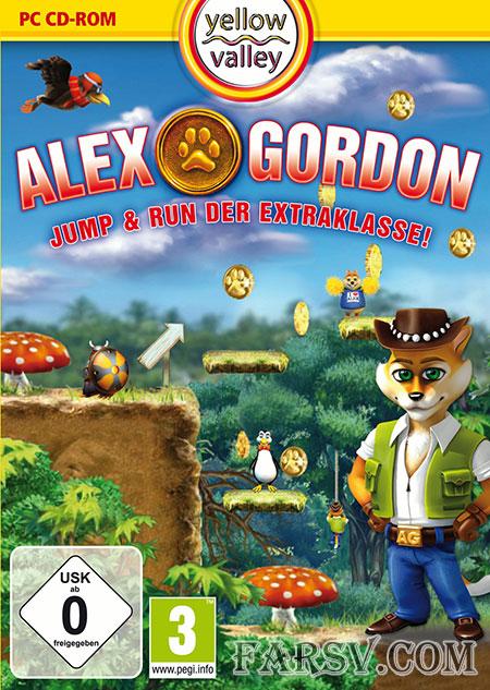 بازی گربه ماجراجو با نام Alex Gordon