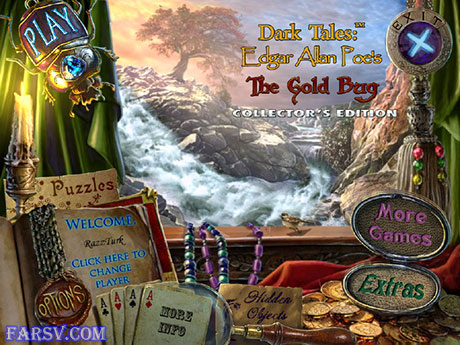 دانلود بازی Dark Tales: Edgar Allan Poe's The Gold Bug Collector's Edition