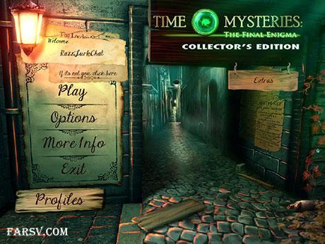 دانلود Time Mysteries: The Final Enigma Collector's Edition