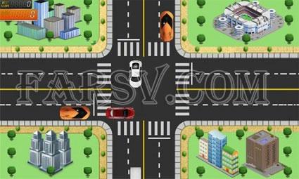کنترل ترافیک شهری با بازی Traffic Rush HD