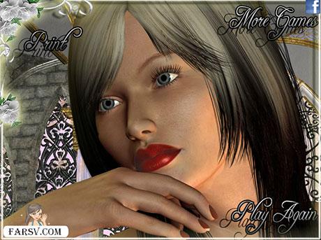 بازی فلش آنلاین دخترانه آرایش عروس