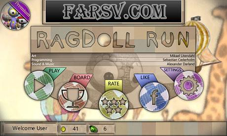 دانلود بازی سرگرم کننده Ragdoll Run