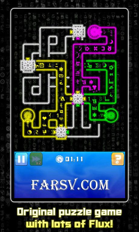 دانلود بازی لوله کشی کلاسیک MegaFlux