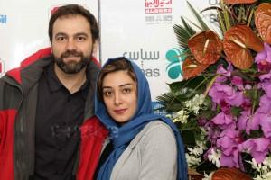 میلیشا مهدی نژاد و همسرش آرش مجیدی