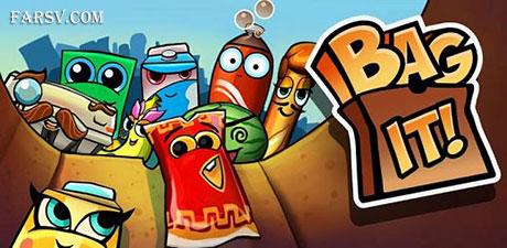 بازی اندرویدی کیسه مواد غذایی Bag It! v2.9