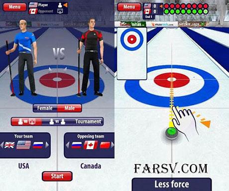 دانلود بازی Curling3D v2.0.18