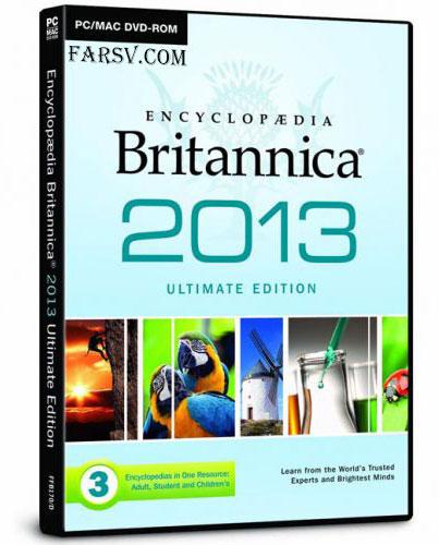 Encyclopedia Britannica 2013 Ultimate Edition