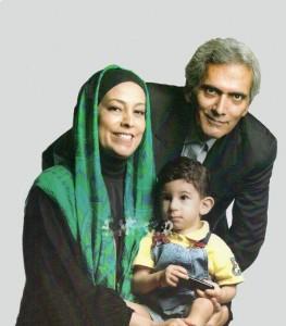 فرخ نعمتی و همسرش سهیلا رضوی