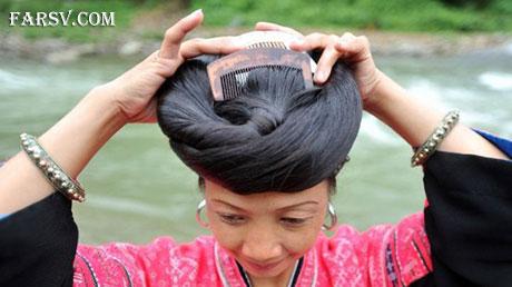 زنان چینی با موهای حدود 2 متر