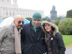 مهسا کرامتی و همسرش راما قوبدل
