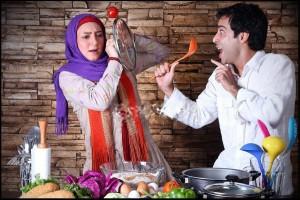 سحر ولد بیگی و همسرش نیما فلاح