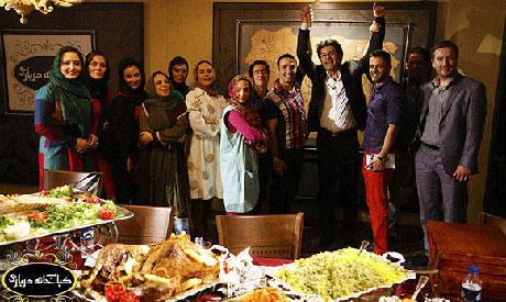 عکس های بازیگران در مهمانی جمعی