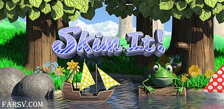 هدایت قایق ها با بازی گرافیکی Skim It