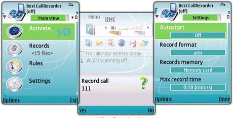 ضبط مکالمات تلفنی با نرم افزار Best CallRecorder