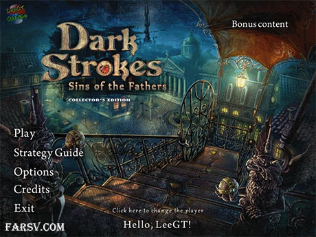 Dark Strokes: Sins Of The Fathers Collectors Edition