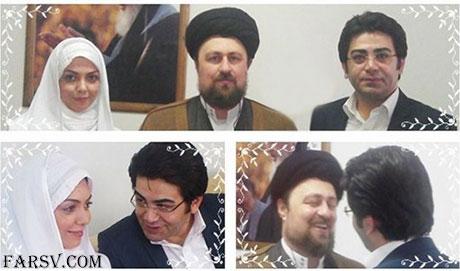 عقد فرزاد حسنی و آزاده نامداری در جماران