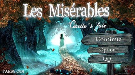 دانلود رایگان بازی Les Misérables Cosette's Fate