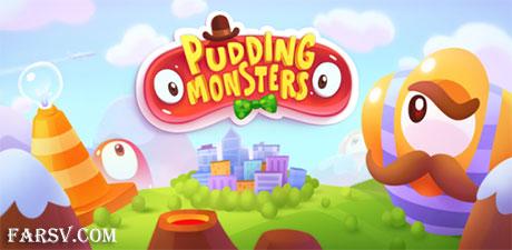 دانلود بازی فکری هیولای پودینگی Pudding Monsters HD v1.2.1