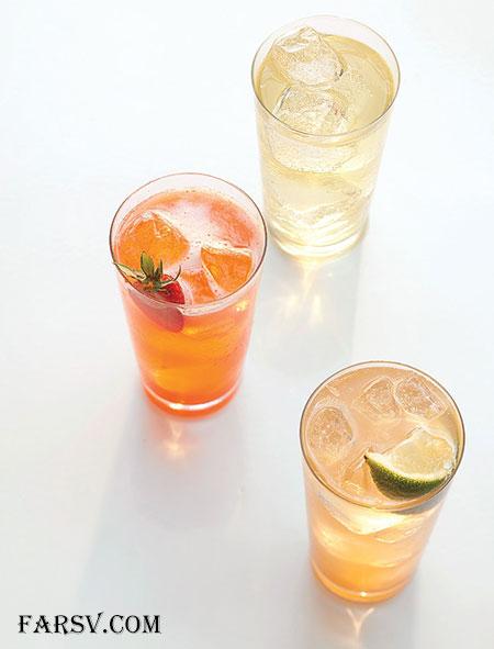 طرز تهیه شربت لیموناد زنجبیلی