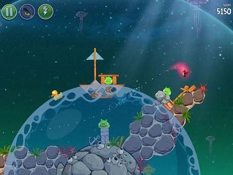 انگری بردز اندروید Angry Birds Space v1.5.2 Android