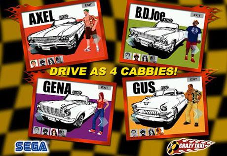 دانلود بازی تاکسی دیوانه Crazy Taxi v1.0.0 Android