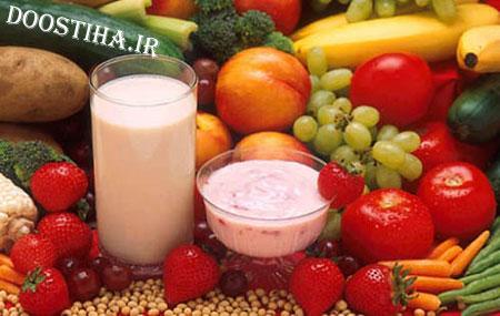 خوراکی های مفید برای درمان