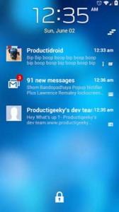 قفل صفحه نمایش برای اندروید LockerPro Lockscreen