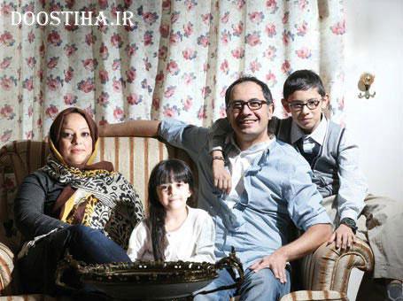 عکس های سیاوش مفیدی در کنار همسر و فرزندش