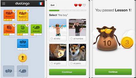 آموزش زبان های زنده دنیا Duolingo: Learn Languages Free