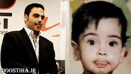 عکس کودکی احسان علیخانی